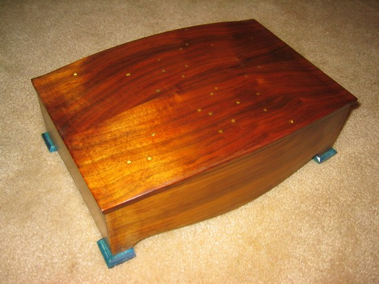 Jewelry box with puzzle