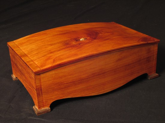 Jewelry box with embedded charm